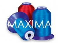 Maxima threads of different colors and densities