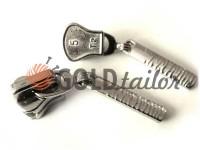 Slider Birch for tractor zipper type 5 nickel