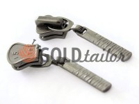 Slider Birch for tractor zipper type 5 black nickel
