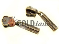 Повзунок Cork для металевої блискавки тип 5 антик