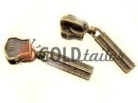Slider Cork for metal zipper type 5 antique