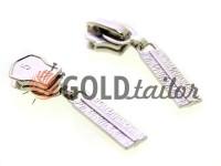 Повзунок Cork для металевої блискавки тип 5 нікель