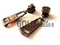 Slider Corner for tractor zipper type 3 antique