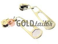 Slider BigPool for metal zipper type 3 nickel