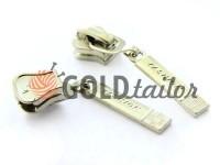 Slider Fashion for tractor zipper type 5 nickel