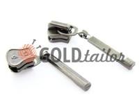 Повзунок Stick для тракторної блискавки тип 5 темний нікель