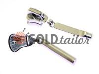 Slider Stick for tractor zipper type 5 nickel
