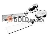 Slider Trap for spiral zipper type 5 black nickel