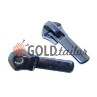 Slider Baryshevka 22 for spiral zipper type 6 type 7 type 8 black