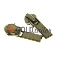 Slider Baryshevka 23 for spiral zipper type 6 type 7 black