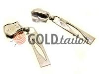 Повзунок Лепесток для металевої блискавки тип 5 нікель