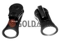 Slider under the braid 8mm for spiral zipper type 5 black