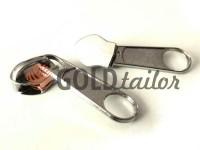 Slider bags for spiral zipper type 5 type 7 type 8 type 10 nickel