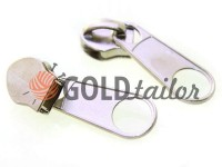 Slider bags for spiral zipper type 5 type 7 type 8 type 10 nickel
