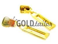 Повзунок Рамка для тракторної блискавки тип 5 золото