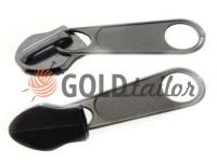 Slider bags for spiral zipper type 5 type 7 type 8 type 10 black nickel