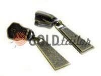 Повзунок Trap для металевої блискавки тип 5 антик