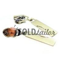 Slider Arc for spiral zipper type 7 nickel