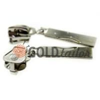 Slider Arc for tractor zipper type 5 black nickel