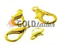 Застібка для біжутерії Дельфін золото