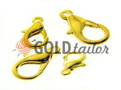 Carabiner for beads and jewelry dolphin color gold buy from one piece and wholesale
