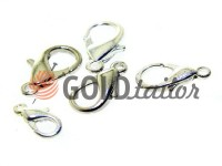Clasp for jewelry Dolphin nickel