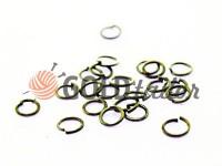 Ring jewelry 5mm Dark Nickel
