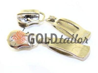 Повзунок Classic для металевої блискавки тип 3 колір нікель опт