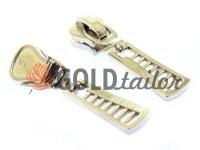 Повзунок FashionZTD для тракторної блискавки тип 5 нікель