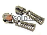 Slider FashionZTD Spiral zipper type 5 Dark Nickel