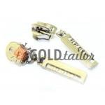 Slider Braint Spiral zipper type 5 nickel