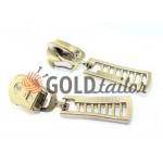 Slider FashionZTD Spiral zipper type 5 nickel