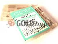 Голки побутові Арти 130/705H для усів видів тканин асорті