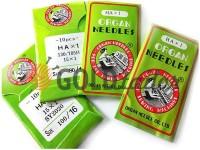 Голки Organ Needles НА*1 для побутових швейних машин №70 - №110