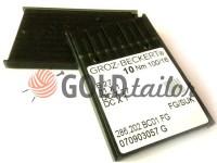 Голки промислові Groz-Beckert B27/SES для оверлока трикотаж
