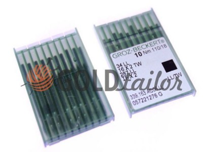 Buy Needles, industrial Groz-Beckert 34LLCR / LL / TW bulb with a thin skin