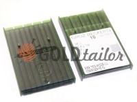 Голки промислові Groz-Beckert 34LLCR/ LL/TW з тонкою колбою для шкіри
