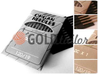 Купить Иглы промышленные Organ Needles DC*1 для оверлока №70-№110