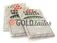 Голки промислові Organ Needles DВ*1 з тонкою колбою №70 - №110