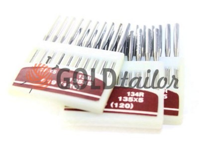 Buy Needles, industrial Orang Needles DP * 5/135 * 5 / 134R with a thick bulb №120
