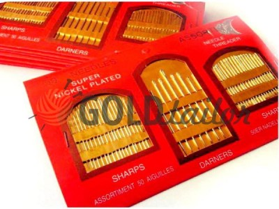 Buy a set of hand needles c nitkovdevatelem 50 Needles Assorti wholesale