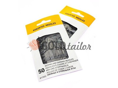 Buy a set of hand sewing needles 17402 50 needles Ukraine