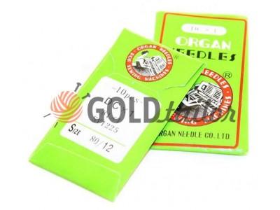 Купити Голки промислові Organ Needles DС * 1 для оверлока №70-№120