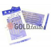 A set of professional hand needles Best 18/22-120051, 6 blunt needles