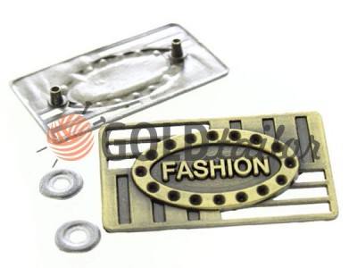 Buy metal tag Fashion 25mm * 40mm Antique wholesale
