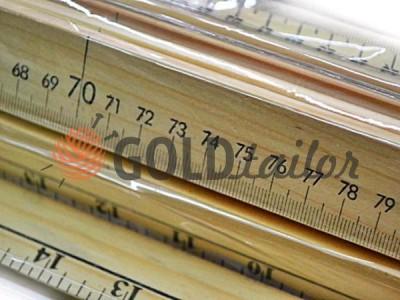 Метр деревяний двосторонній купити за оптовими цінами на goldtailor