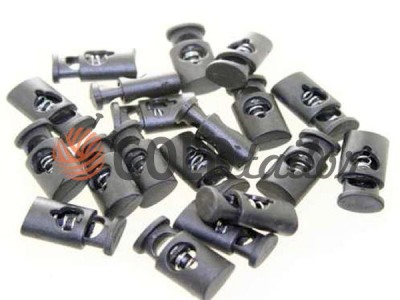 Buy retainer cord d = 8mm plastic single hole 11mm * 20mm black