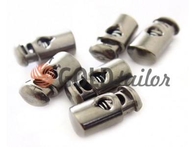 Buy retainer cord d = 5mm plastic single hole 10mm * 22mm Dark Nickel