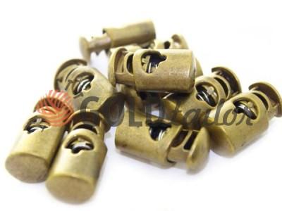 Buy retainer cord d = 8mm plastic single hole 13mm * 23mm Antique