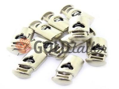 Buy retainer cord d = 8mm plastic single hole 15mm * 30mm nickel